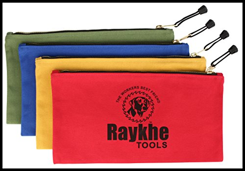 Canvas Zipper Tool Bags 12.5