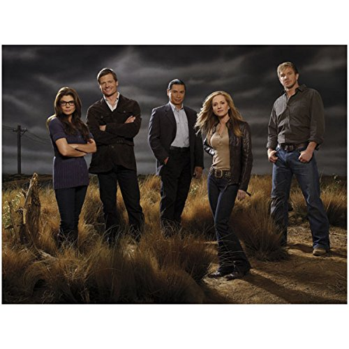 Holly Hunter 8x10 Color Photo Saving Grace Cast Photo Five Outdoor Dark Sky Wlo by Photograph
