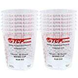 Custom Shop Pack of 12 Each 32 Ounce Paint Mix Cups
