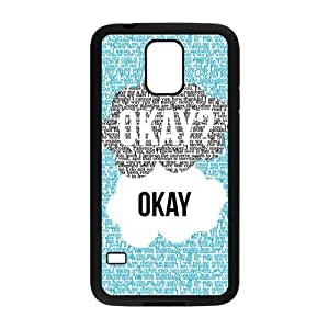 Season.C-Custom The Fault In Our Stars Back Cover Case for Samsung Galaxy S5 i9600 (Black)
