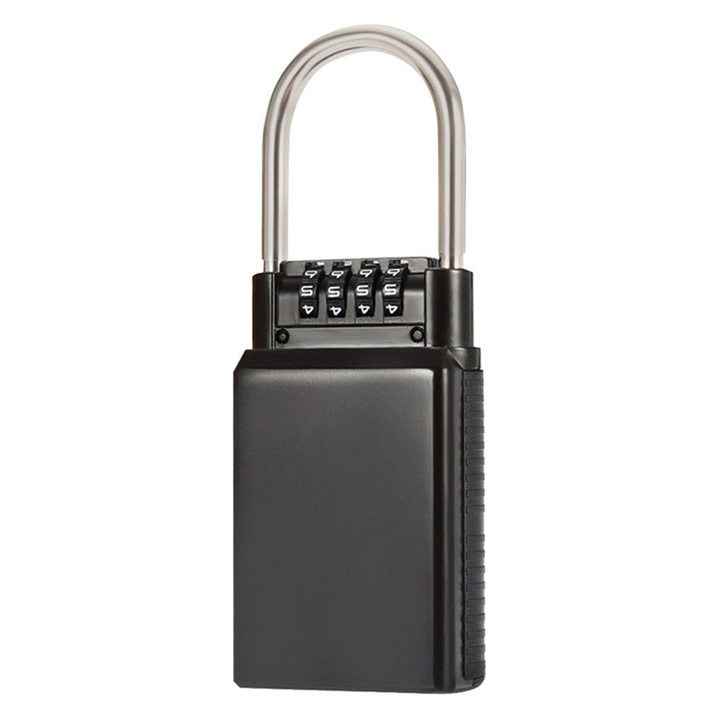 Schwarz PETSOLA Outdoor Wand Safe Key Box Organizer Passwort Lock Fall Car Home Key