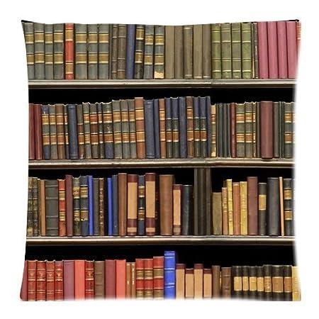 Amazon.com: Libros de biblioteca estantería con cierre ...