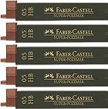 Faber Castell High polímeras, 5x, 0.5HB, 1