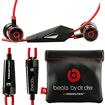 Monster Beats By Dr Dre Ibeats in Ear Headphones Earphones Black - (Supplied with no retail packaging) from beats