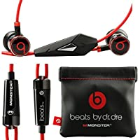 Want Monster Beats By Dr Dre Ibeats in Ear Headphones Earphones Black NEW(gift bag) reviews