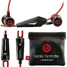 Monster Beats por Dr. Dre ibeats auriculares negros–(se envía sin paquete minorista)