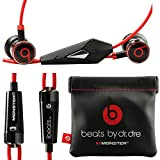Beats Headphones Best Deals - Monster Beats By Dr Dre Ibeats in Ear Headphones Earphones Black - (Supplied with no retail packaging)