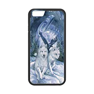 CHENGUOHONG Phone CaseWolf Pattern For Apple Iphone 6 Plus 5.5 inch screen Cases -PATTERN-3