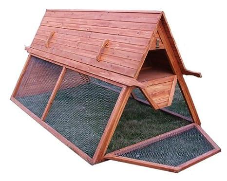 Amazon.com : Large Chicken Coop, Portable, For 5 To 7 Hens : Garden U0026  Outdoor