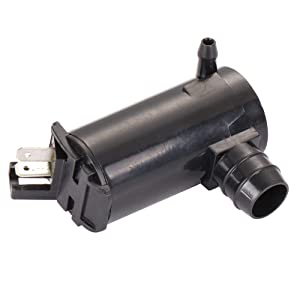 ECCPP 89001132 Windshield Washer Pump Motor Replacement fit for 1994-2007 Honda Accord 1988-2004 Honda Civic 2003-2011 Honda Element 2000-2005 Honda Odyssey 2003-2004 Honda Pilot