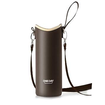 Trinkflaschen & -halter Wasser Flasche Tasche IsoliertAbdeckung Halter Beutel Gurt Schwarz Abnehmbar