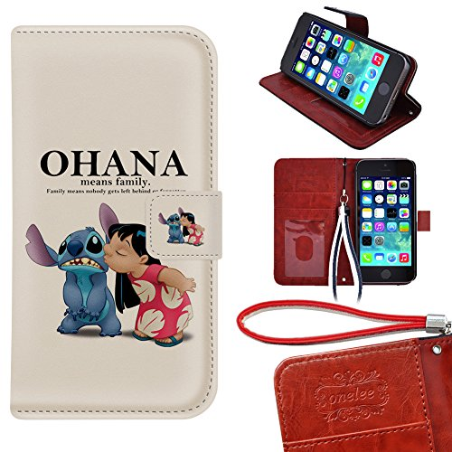 iPod Touch 5 Wallet Case, Onelee - Disney's Lilo & Stitch...