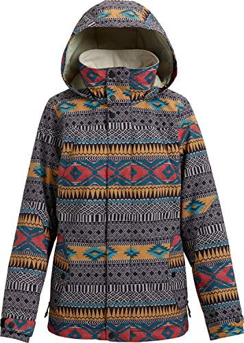 - Burton Women's Jet Set Jacket, Tahoe Freya Weave, Medium