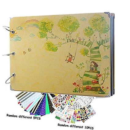 Amazon Scrapbook Albums Vintage Diy Photo Albums Our Story 10 X