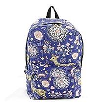 Celestial Deer Backpack On Canvas