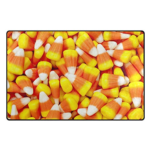 ALAZA My Daily Funny Halloween Candy Area Rug 20