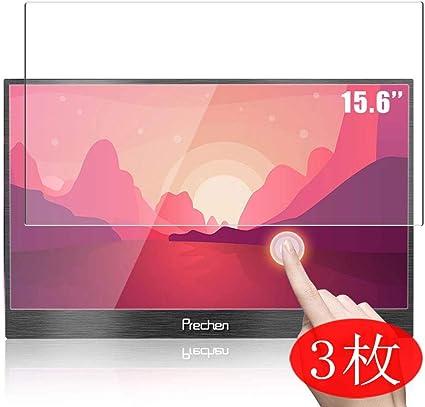VacFun 3 Piezas HD Claro Protector de Pantalla para Prechen Monitor 15.6