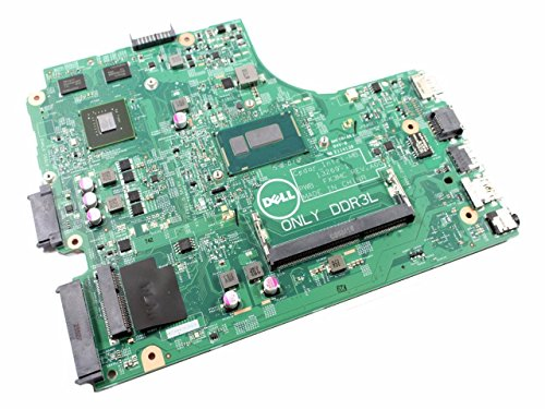 Dell Inspiron 15-3542 Intel Pentium 3558U 1.70 GHz DDR3 SDRAM 1 Memory Slot HD Graphics 2 USB Ports Motherboard N4C2G FX3MC P34KX 0P34KX 0N4C2G CN-0N4C2G (Dual Pentium Core Motherboard)