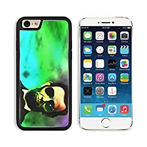 Abraham Lincoln President Neon Lights Apple iPhone 6 TPU Snap Cover Premium Aluminium Design Back Plate Case Customized Made to Order Support Ready MSD iPhone_6 Professional Case Touch Accessories Graphic Covers Designed Model Sleeve HD Template Wallpaper
