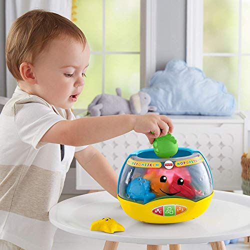 - Fisher-Price Laugh & Learn Magical Lights Fishbowl (Deluxe Pack Includes 5 Aquatic Friends)