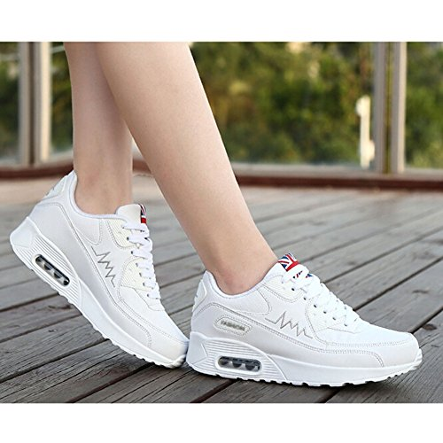Taille Course Chaussure Basses Sneakers Blanc Kivors Mode Basket De 40 Sport 36 Fitness Femme Air qwYfzwP