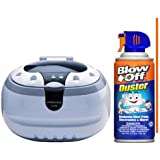 Clearmax CD-2800 Ultrasonic Jewelry & Eyeglass Cleaner with BlowOff Duster