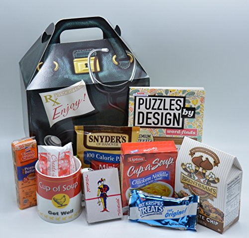 Get Well Soon Care Package Gift (Available in Two Sizes) … (Standard)