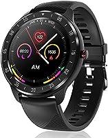 CanMixs Smartwatch Fitness Armband, Voller Touch Screen Fitness Tracker Uhr mit Wasserdicht IP67, CM13 Bluetooth Smart...