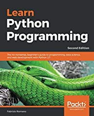 Learn the fundamentals of Python (3.7) and how to apply it to data science, programming, and web development. Fully updated to include hands-on tutorials and projects. Key Features Learn the fundamentals of Python programming with interactive...