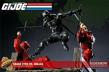 amazon com sideshow g i joe snake eyes vs red ninjas exclusive