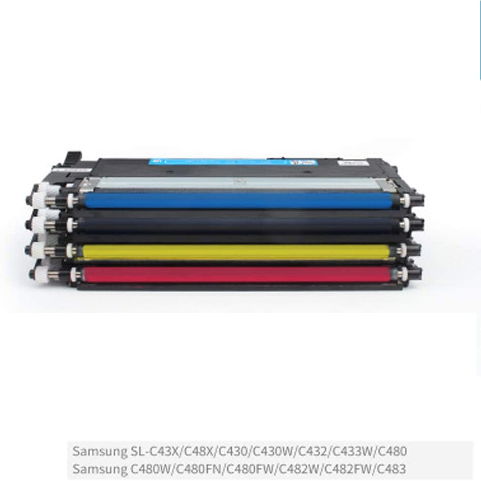 C430 Sl-C430w Sl-C432 Sl-C433w Sl-C480 C480w C480fn C480fw C482w C482fw C483 with Chip-Combination C43x Sl-C48x Sl Compatible Toner Cartridge Replacement for Samsung 404s for Samsung Sl
