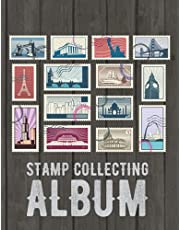 Stamp Collecting Album: Best stamp collecting albums for beginners ! stamp album book