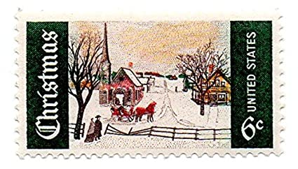 USA Postage Stamp Single 1969 Christmas Issue 6 Cent Scott 1384