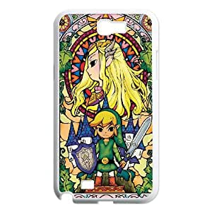 Samsung Galaxy N2 7100 Cell Phone Case White Zelda And Link VIU168750