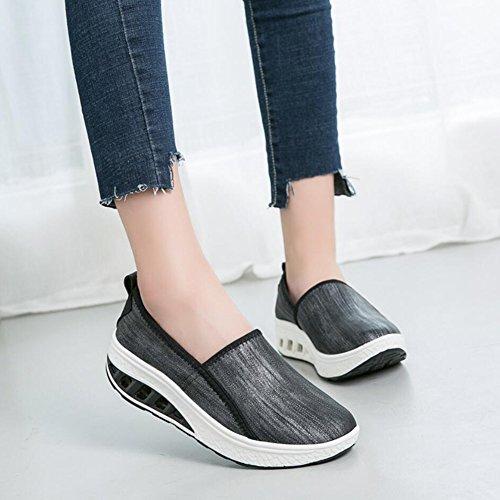 Fitness Sneakers Pu Mocassini Flat Autunno Guida Scarpe Da Primavera Athletic E Platform Loafers Un Shoes Xue Shaking Mutandine Donna Shake qxnvYgta