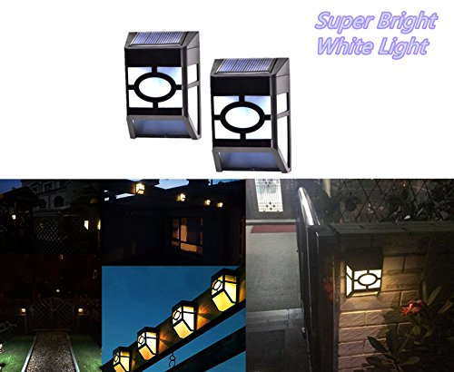 Cheap  GMFive Solar Lights Outdoor,Outdoor Fence Lights, Wireless Waterproof LED Solar Lights for..