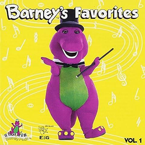 Barney's Favorites Vol. 1 (Barney Sing A Long Songs Cd)