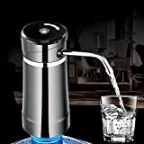 Winnerbe Electronic USB Charging Automatic Barreled Water Dispenser Mineral Water Pumping Device (Black)