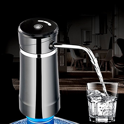 Winnerbe Electronic USB Charging Automatic Barreled Water Dispenser Mineral Water Pumping Device (Black) by Winnerbe