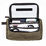 G.U.S Travel Media Pouch - Cord, Cable, and Cell Phone or Tablet Storage Pouch. Multiple Colors Available - Hunter Green