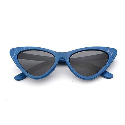 Amazon.com: Dixinla - Gafas de sol para mujer, de madera ...