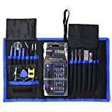 78-in-1 Precision Screwdriver Set,Wilder Magnetic Driver Kit with 54 Bits, Repair Tool kits for iPhone X,8/8s,7,iPad,Laptops,PC,Eyeglasses,Watches