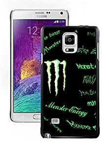 Lovely And Unique Designed Cover Case For Samsung Galaxy Note 4 N910A N910T N910P N910V N910R4 With Monster 9 Black Phone Case