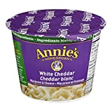 Annie's Homegrown White Cheddar Macaroni & Cheese Microwave Cup, 57 Gram