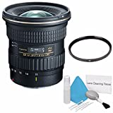 Tokina 11-20mm f/2.8 AT-X PRO DX Lens for Canon EF (International Model) No Warranty+Deluxe Cleaning Kit + 82mm UV Filter Bundle 1