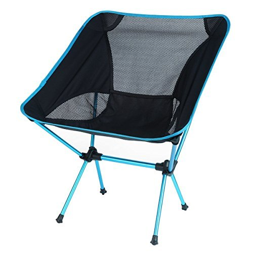 OUTAD Mini Portable Folding Chair for Outdoor Camping/Fishing /Picnic/ BBQ (Sky Blue)