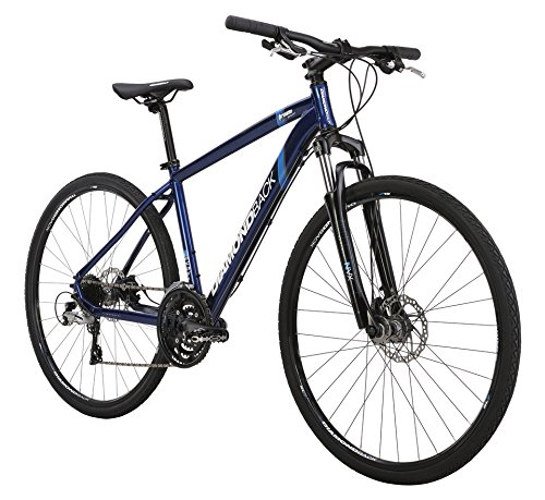 UPC 791964447443, Diamondback Bicycles 2015 Trace Sport Complete Dual Sport Bike, 20-Inch/Large, Blue