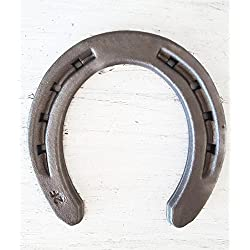 New Steel Horseshoes - Size 00 - R2-F - Sand Blasted Steel - The Heritage Forge Size 00 - 40 Shoes