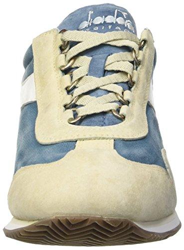Adulte Avio Wash Blu Stone Blue Beige Equipe Chaussures Mixte Basses Diadora 12 qU0wnB