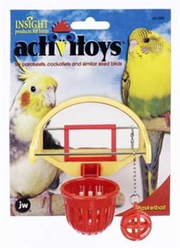 JW Pet Company Activitoys Birdie Basketball Bird Toy, My Pet Supplies